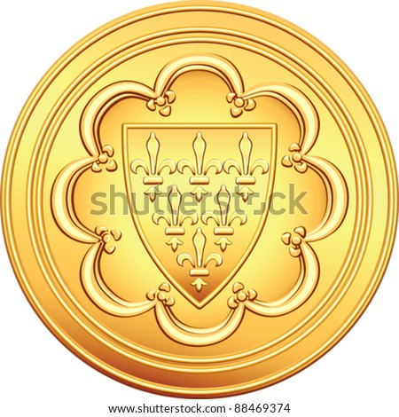 french coat of arms stock images royaltyfree images