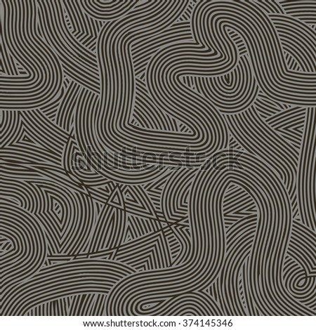 Vector Gray Wave Line Pattern
