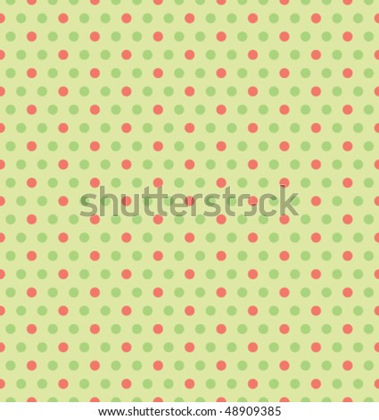 Vector Green seamless background - stock vector