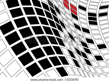 vector grid background - stock vector