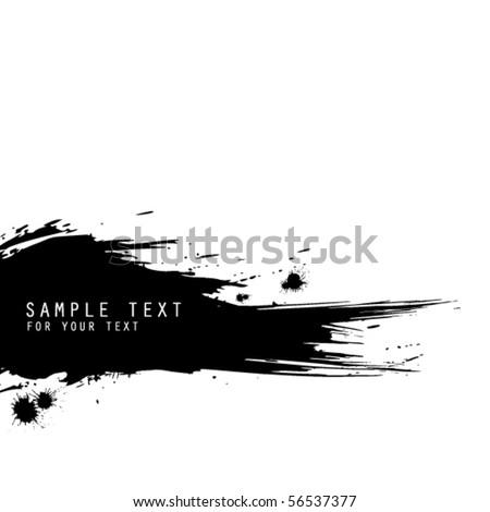 vector grunge background - stock vector
