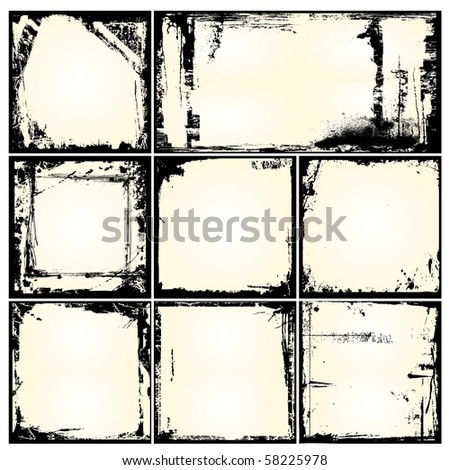 Vector Grunge Background - stock vector