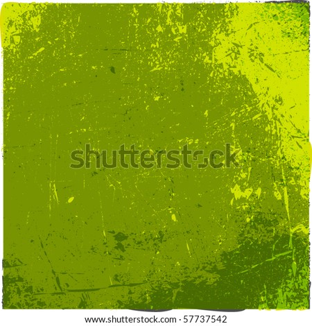 vector grunge background with space for your text - stock vector