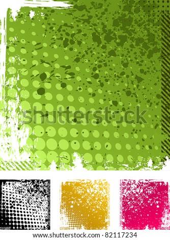 vector grunge backgrounds texture - stock vector