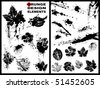 vector grunge design elements - stock vector