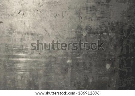 Vector Grunge Metal Texture - stock vector