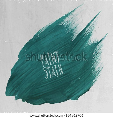 Vector grunge paint abstract background - stock vector