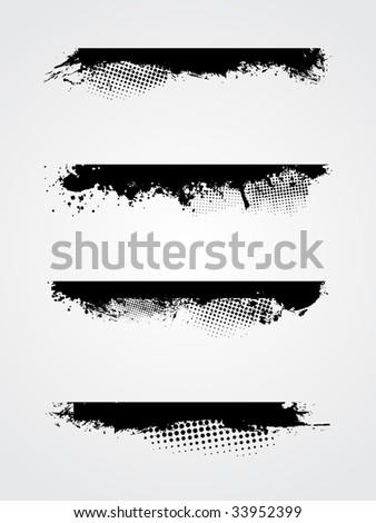 vector grunge sheet - stock vector