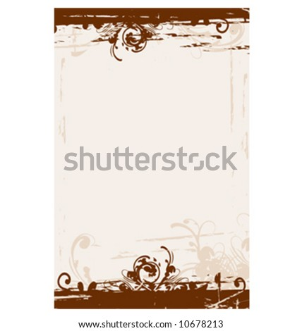 """Vector grunge style background. File dimension measures 5.5"""" x 8.5"""" - stock vector"""