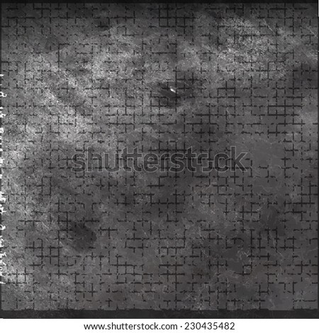 Vector Grunge texture. Black pattern. Scratch Texture . - stock vector