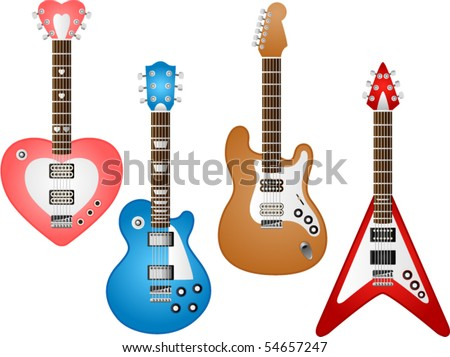 Vector- Guitar set 3