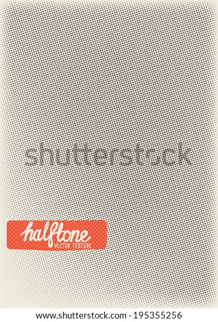 Vector Halftone Texture. Halftone pattern texture to add depth to designs. Layered vector illustration. - stock vector