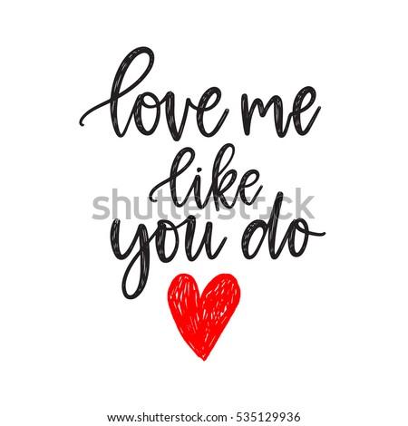 Love You Note Stock Vector 357944837 - Shutterstock