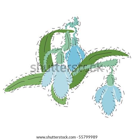 Vector hand-drawn illustration. - stock vector