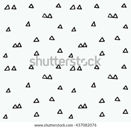 Vector handmade seamless texture. Abstract tileable pattern -  perfect for creating greeting cards, posters, backgrounds, business cards and more... - stock vector