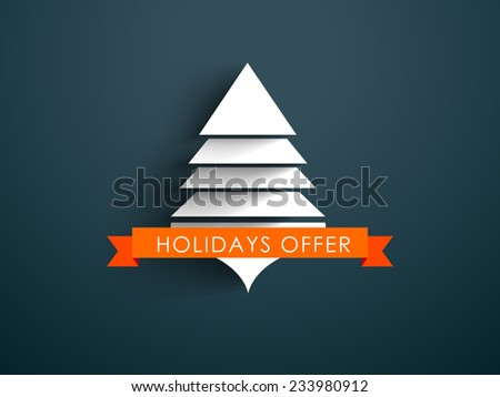 Vector Happy New year 2015 design with Stylish text, Holidays offer. eps 10 - stock vector