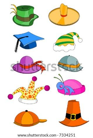 Funny Hat Stock Vectors & Vector Clip Art | Shutterstock
