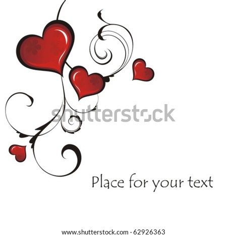 Vector heart - stock vector