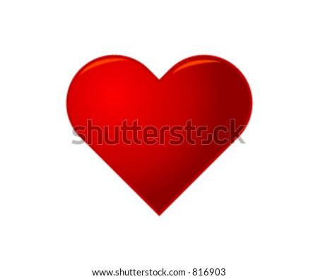Vector Heart - stock vector