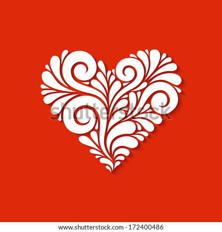 Heart Drawing Stock Images RoyaltyFree   Shutterstock