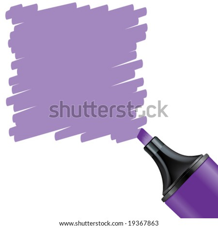 Vector Highlighted Purple Background - stock vector