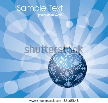 vector holidays background, fully editable - stock vector