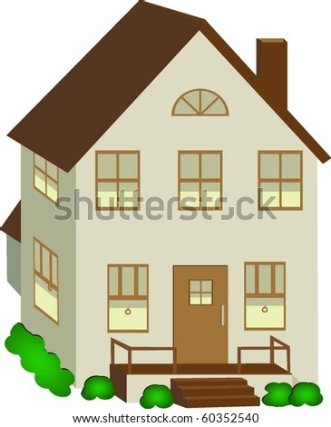 Vector Home - stock vector