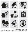 Vector houses - stock vector