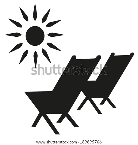 Beach Chair Vector sun-chair stock images, royalty-free images & vectors | shutterstock