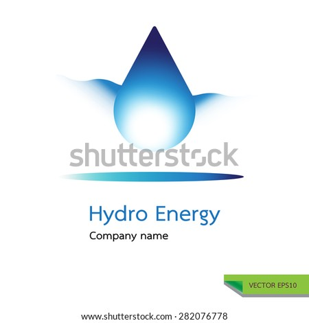 Vector Icon Made Drop Water Water Stock Vector 282076778 Shutterstock