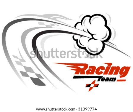 vector icon related with speed and racing - stock vector