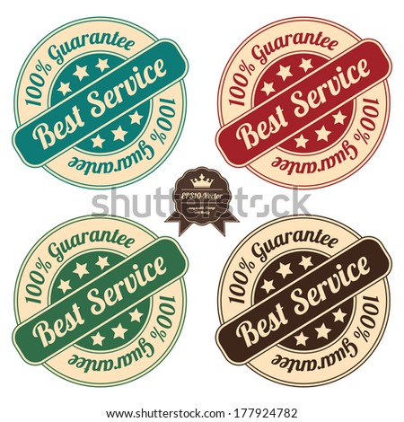 Vector : Icon Set for Quality Assurance and Quality Management Concept - stock vector