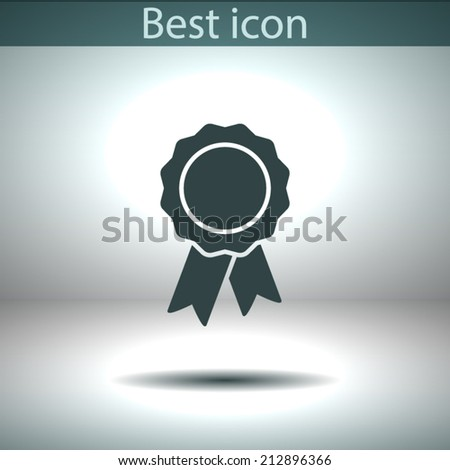 Vector icon.  The best choice of Web icons - stock vector