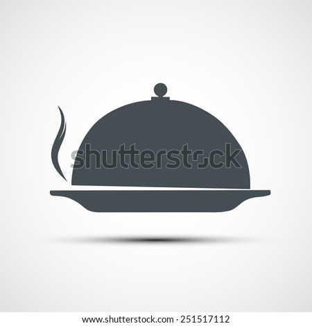 Vector icons dishes - stock vector