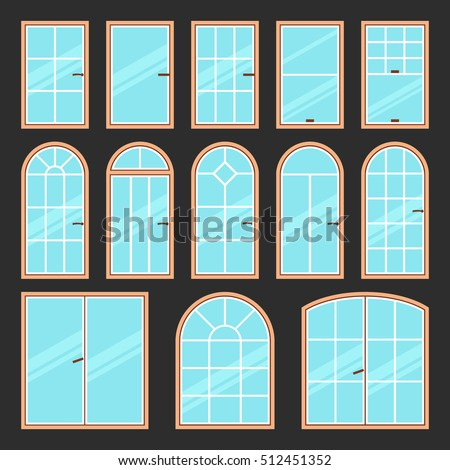Circle window stock images royalty free images vectors for Types of window shapes