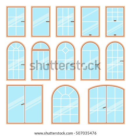 Architectural arch type stock images royalty free images for Types of window shapes