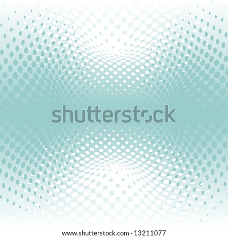 vector illusion of the gradient - stock vector