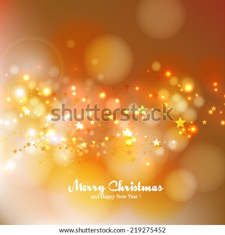 Vector illustration abstract Christmas Background  - stock vector