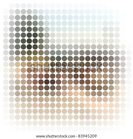 Vector illustration. Abstract texture. - stock vector