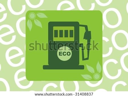 vector illustration. Biofuel - stock vector