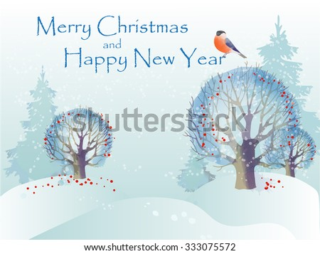 Vector illustration Christmas Background