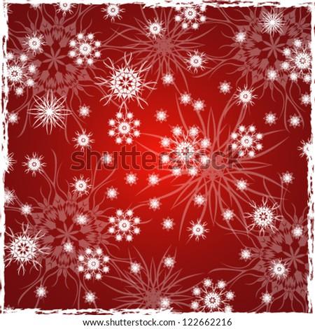 Vector illustration. Christmas wallpaper - stock vector