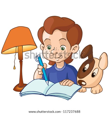 learning Cartoon Clipart Getty Images