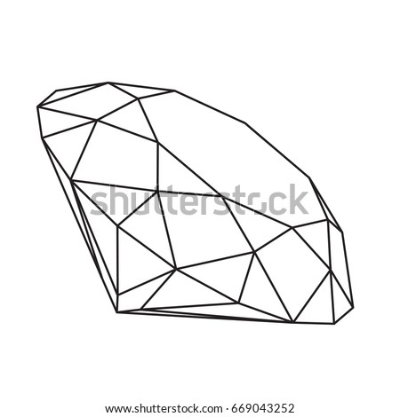 Box Die Cut Template Packing Food 360986102 on layout for hexagonal box