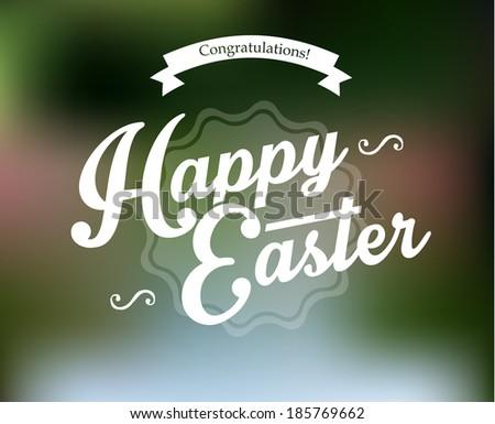Vector illustration (eps 10) of Easter designs - stock vector