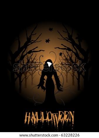vector illustration for halloween celebration - stock vector