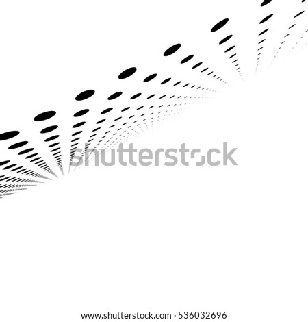 Vector illustration. Halftone effect vector background.