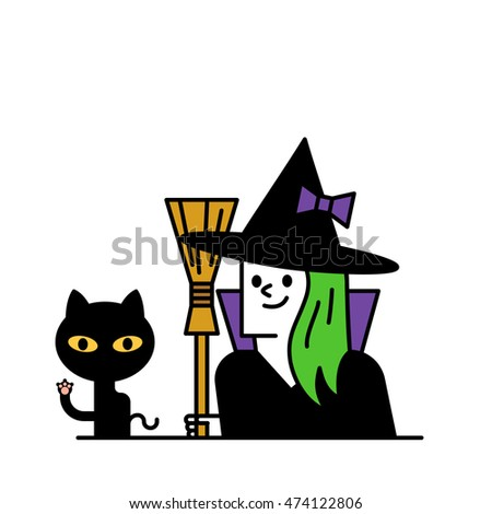 Vector illustration - Halloween Character