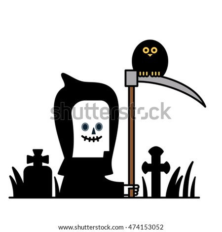 Vector illustration - Halloween costume