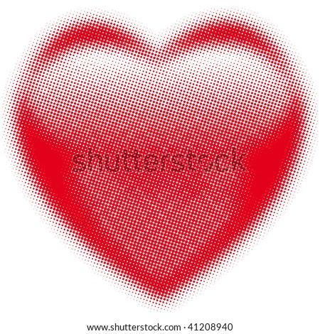 Vector Illustration heart - stock vector